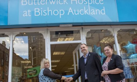 Founder's grandson opens new shop for hospice