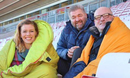 CEO Sleepout challenges Darlington business leaders