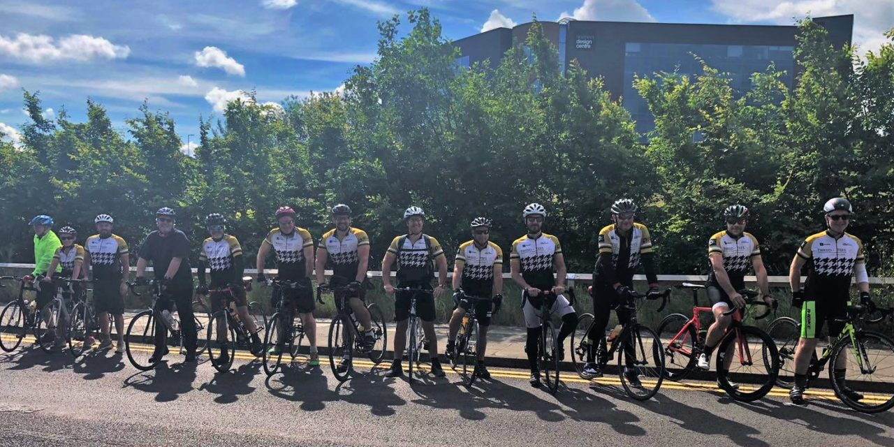 Cyclists raise nearly £10,000 for autism charity