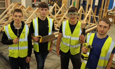 Refurbishment is child's play for construction students