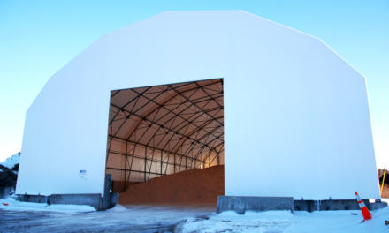 Local councils drive to increase salt warehouse capacities ahead of winter