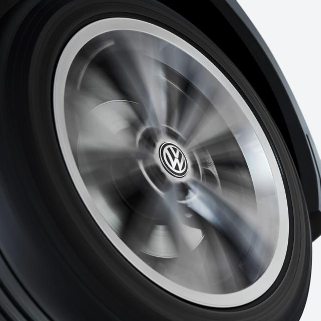 VOLKSWAGEN OFFERS LUXURY-LEVEL ALLOY WHEEL CENTRE CAPS