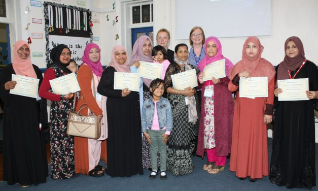 Community class brings primary parents together