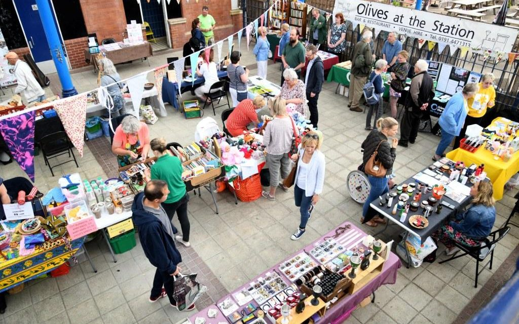 Green Beans Market Arriving At Platform One With Newcastle Building Society Grant Support