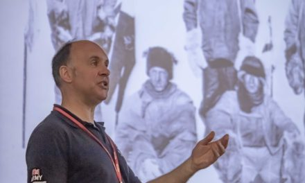 Antarctic adventurer visits North-East school