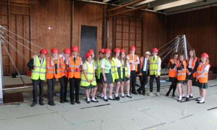 Pupils build a careers bridge to the future