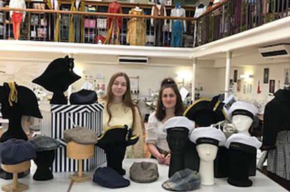 Hat off to costume design students as millinery skills fit the bill for Hartlepool's Waterfront Festival