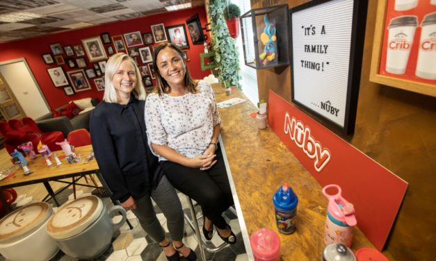 Nuby™ celebrates 10 years in the UK with its South Tyneside expansion