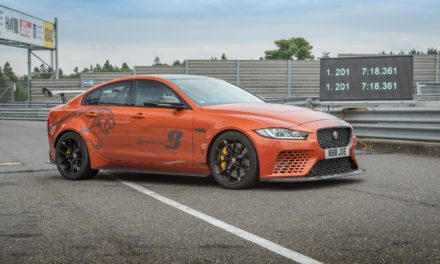 JAGUAR XE SV PROJECT 8, THE WORLD'S FASTEST SALOON CAR, BEATS ITS OWN NÜRBURGRING NORDSCHLEIFE RECORD