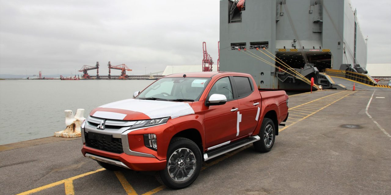 FIRST SHIPMENT OF NEW MITSUBISHI L200 SERIES 6 PICKUP ARRIVES IN THE UK
