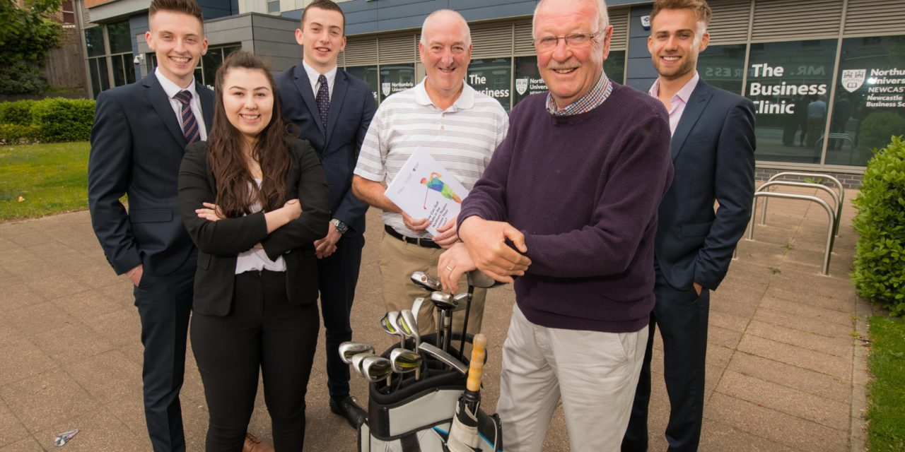 Students tee-up strategy to help drive business for golf clubs across the North