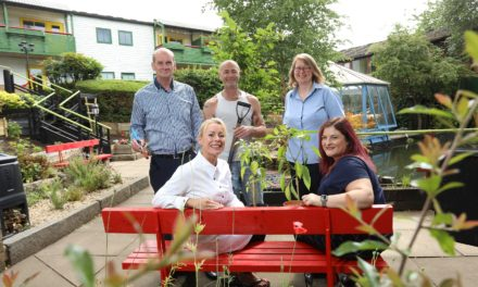 New veterans garden unveiled thanks to makeover from volunteers