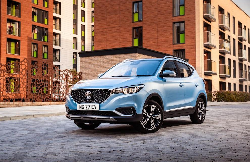 MG SPARKS EXCITEMENT WITH ZS EV AT CARFEST