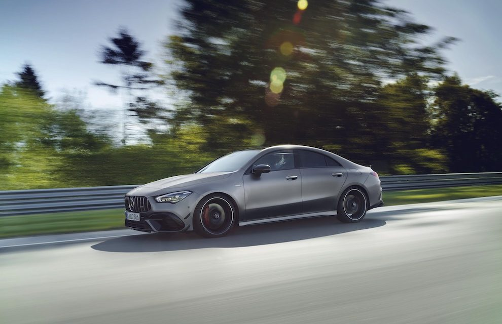 THE NEW MERCEDES-AMG A 45 4MATIC+ AND CLA 45 4MATIC+