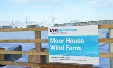 Local Schoolchildren Set To Make Their Mark On Moor House Wind Farm Turbines