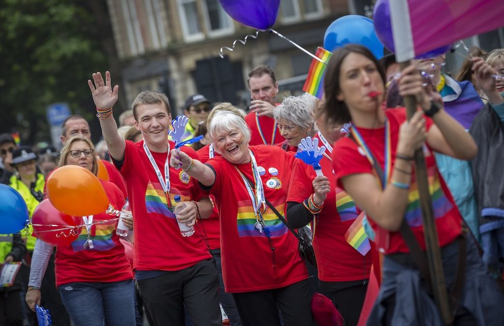 HELP FILL THE STREETS WITH PRIDE ON SATURDAY