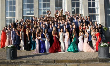 The King's Academy's celebrate the end of Year 11 in style