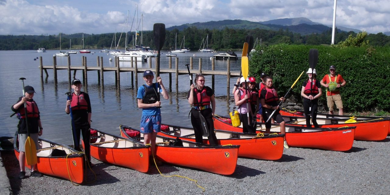 School pupils embark on paddling Odyssey for unique charity challenge