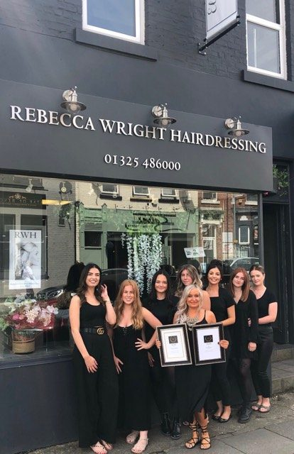 A cut above the rest for award winning Darlington hairdresser and salon owner
