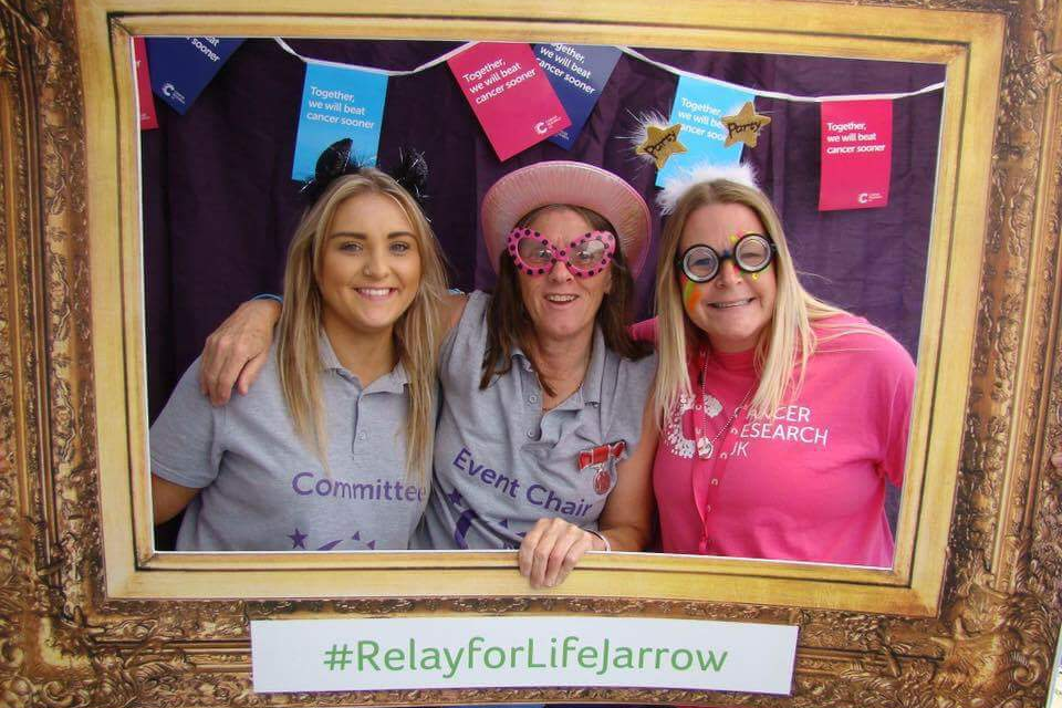 VOLUNTEERS ON THEIR MARKS TO SMASH FUNDRAISING TARGET FOR CANCER RESEARCH UK