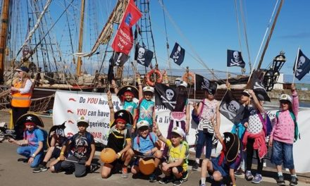 CHILDREN OF CHERNOBYL ENJOY TYNE SAIL DAY, THANKS TO SIMON BAILES PEUGEOT