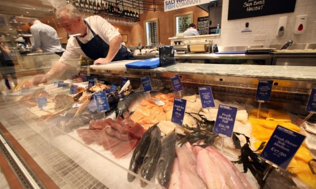 Saltwater nets fishmonger of the year award North East