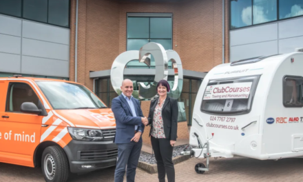 RAC renews its long relationship with The Camping and Caravanning Club