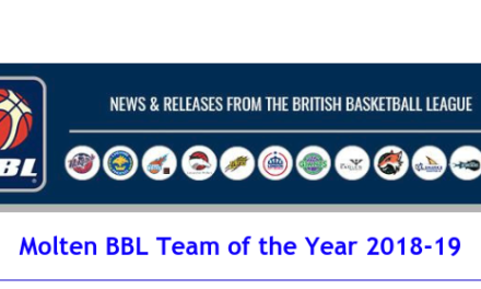 Molten BBL Team of the Year 2018-19
