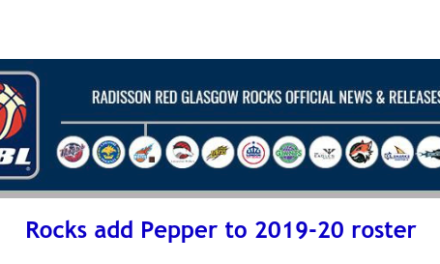British Basketball League: Rocks add Pepper to 2019-20 roster
