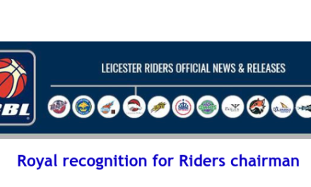 British Basketball League: Royal recognition for Riders chairman