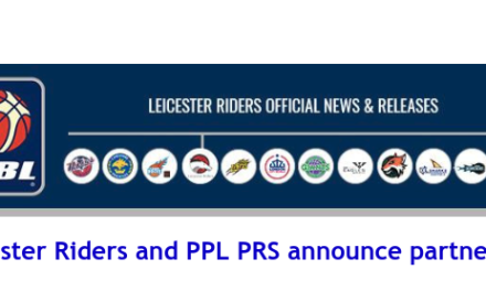 British Basketball League: Leicester Riders and PPL PRS announce partnership