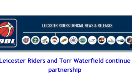 British Basketball League: Leicester Riders and Torr Waterfield continue partnership