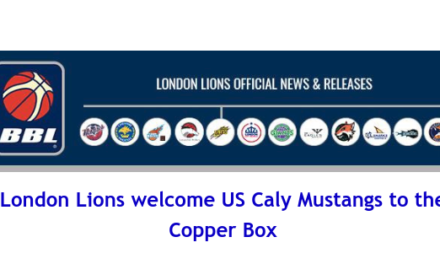 British Basketball League: London Lions welcome US Caly Mustangs to the Copper Box