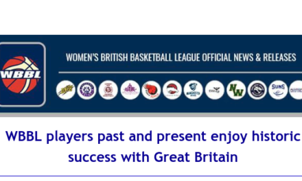 Women's British Basketball League: WBBL players past and present enjoy historic success with Great Britain