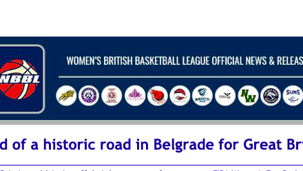 News from Women's British Basketball League: End of a historic road in Belgrade for Great Britain