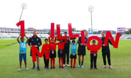 One Million Not Out – ICC Men's Cricket World Cup Helps to Inspire Future Generations of Players and Fans