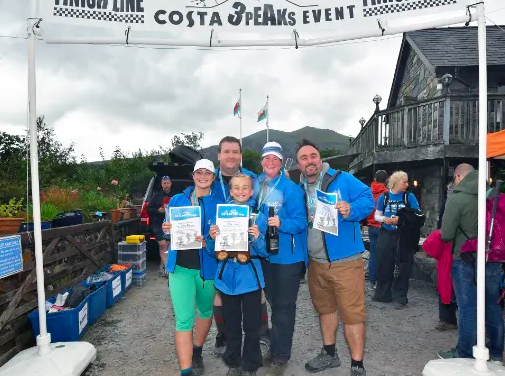 Costa Coffee team members climb to success to raise thousands for Costa Foundation