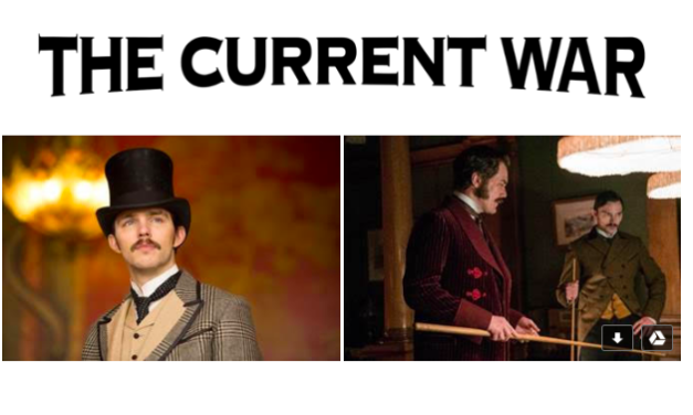 Nicholas Hoult as Nikola Tesla, Born on This Day 1856 / THE CURRENT WAR / in cinemas 26 July