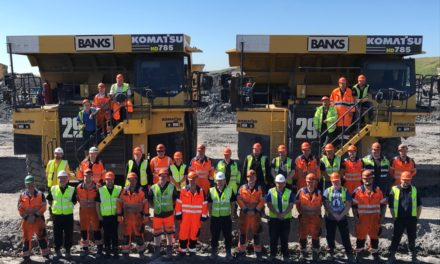 Half A Million Cheers As Shotton Surface Mine Team Hits Major Safety Milestone