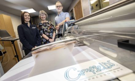 Signs point way home for Tees business