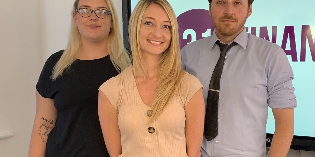 Financial firm doubles its workforce in under a year