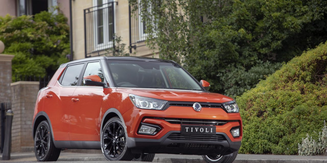 SPECIAL EDITION SSANGYONG TIVOLI LE ON SALE FROM MID-JULY