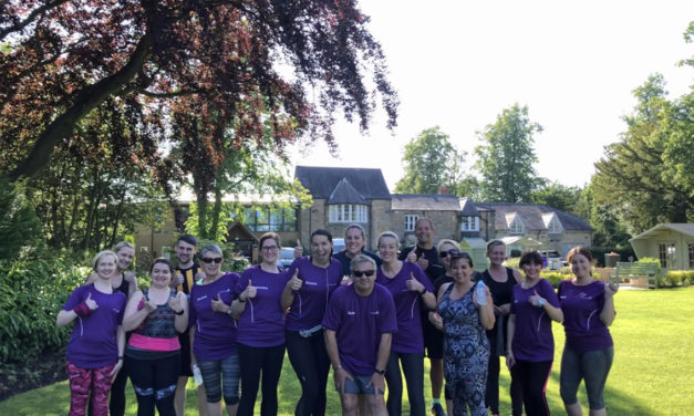 St Cuthbert's Hospice team gets set to take on Prince Bishops Durham City Run