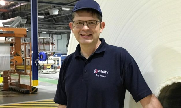 Global tissue manufacturer Essity announces a change in leadership at its Tynedale plant