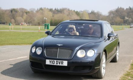 THE LUXURIOUS BENTLEY DRIVING EXPERIENCE – FOR 10-YEAR OLDS