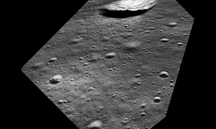 Lunar Reconnaissance Orbiter Camera Simulates View from Lunar Module