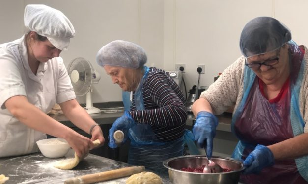 Pie making residents take over care home kitchen