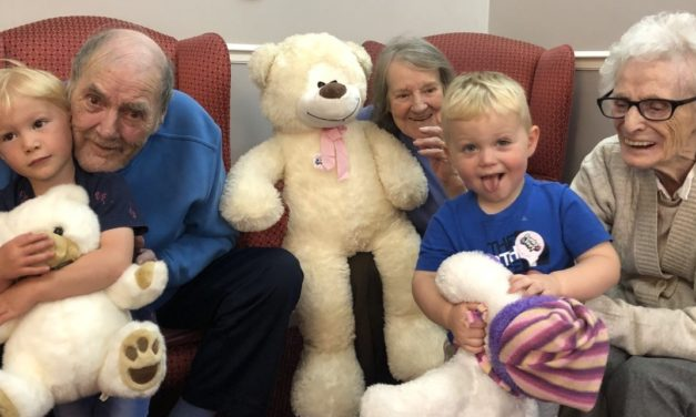 National Picnic Week for elderly, children and teddy bears