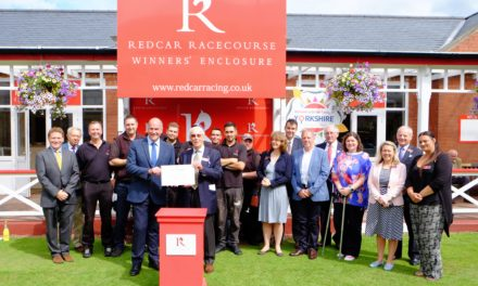Redcar Racecourse crowned Best Small Racecourse in Scotland & The North