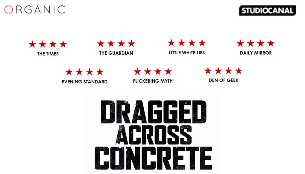 DRAGGED ACROSS CONCRETE – AVAILABLE DIGITALLY 12 AUGUST AND ON BLU-RAY & DVD 19 AUGUST